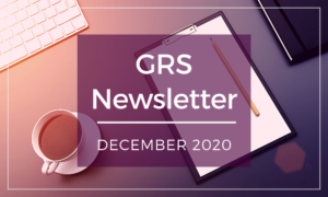 GRS Newsletter December 2020 - Newcastle Research Institute - Genesis Research Services