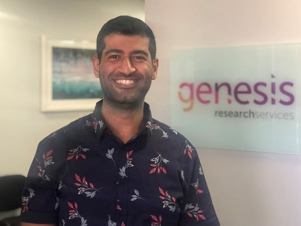 Genesis Research Services coordinator Mohamad