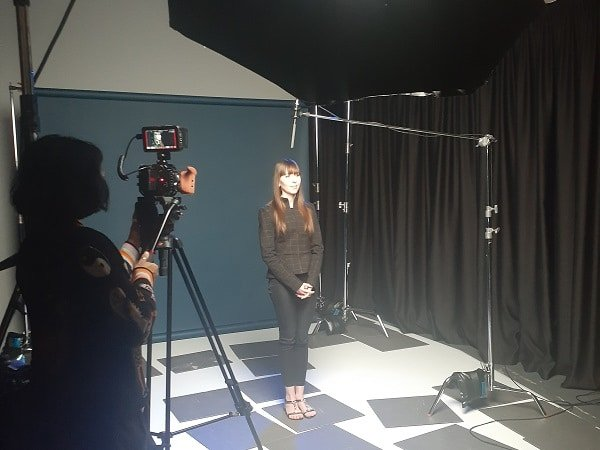 Genesis Research Services filming for pain awareness month